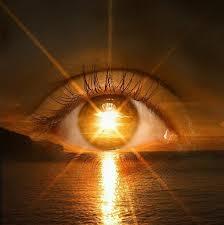 Orange Eye Flare