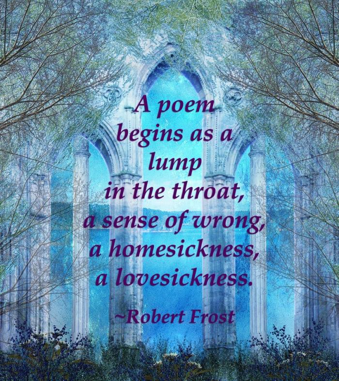 A Poem Begins
