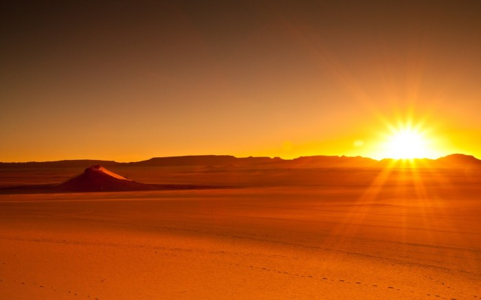 Sunsets-Desert-Nature-Background