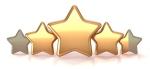 Gold Stars 3-5