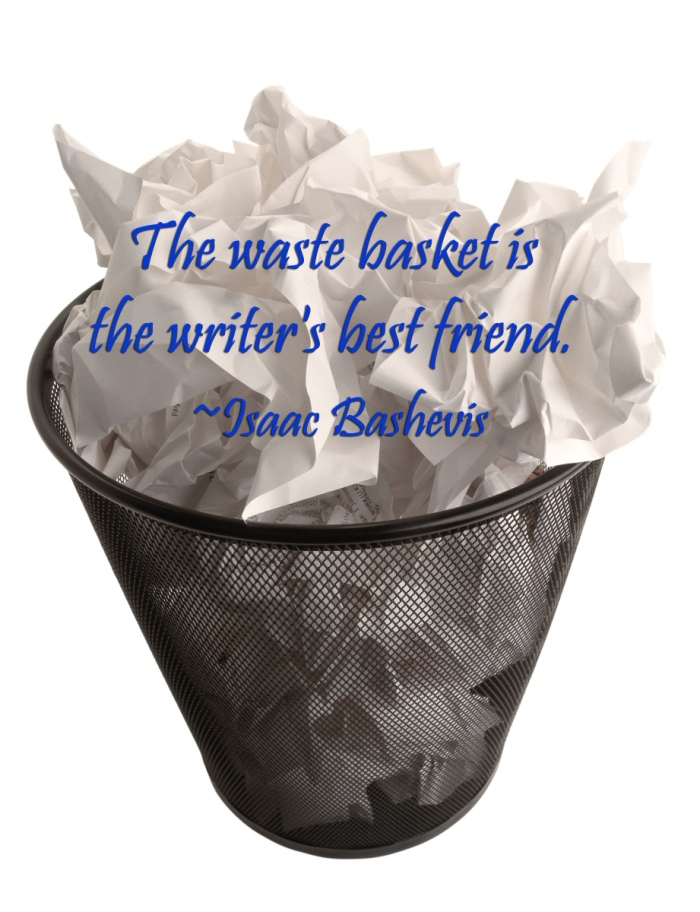 waste basket for writers