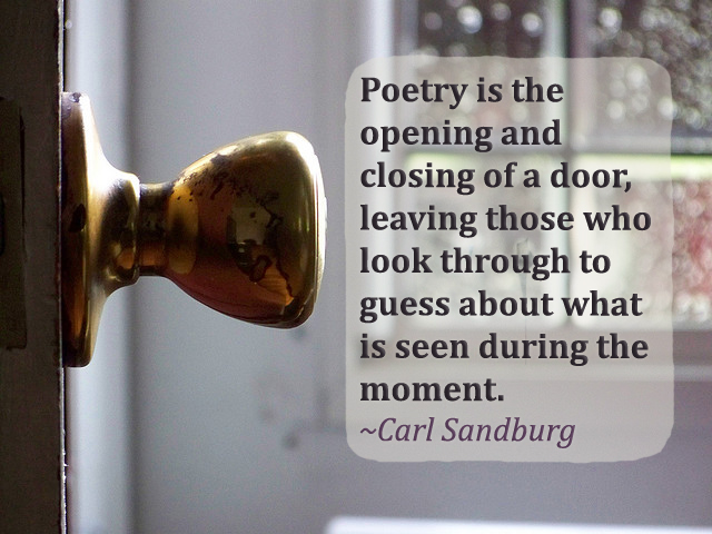 open door & poetry