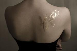 Gold Tattoo 1
