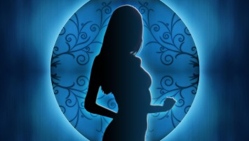 blue-woman-silhouette