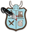 nanowrimo crest 2014 & knife