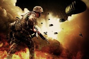 Paratroopers in War