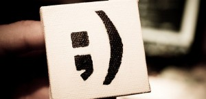 Semicolon-smiley