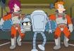 Bender Carring His Head